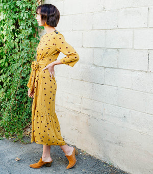 Taycee Dress-Mustard