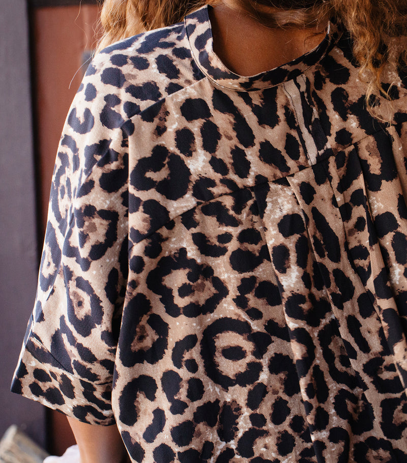 Amy's Leopard Top
