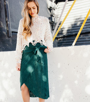 Ginger Wrap Skirt