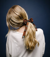 Scarf Ascot-Brown