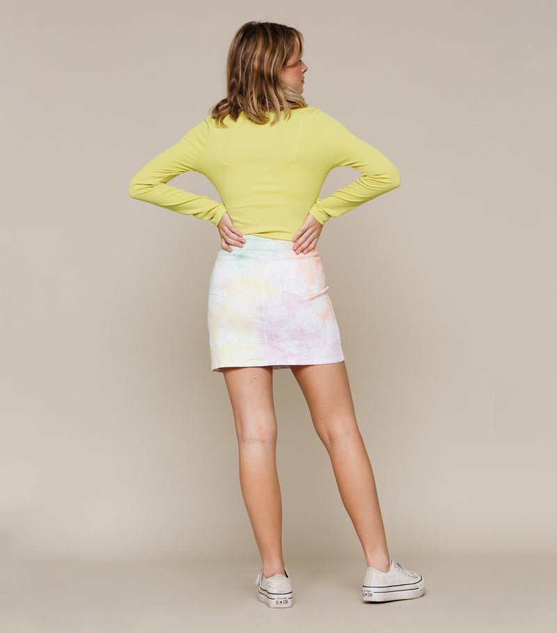 Colored Rad Skirt