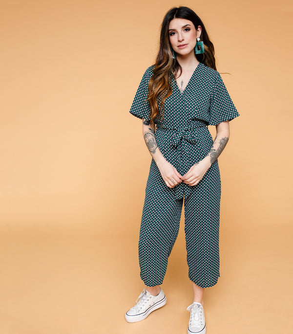 Spring Stream Jumpsuit