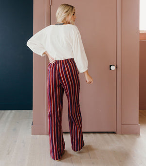 Stripe Retro Pant
