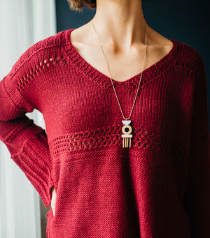 Into Fall Sweater