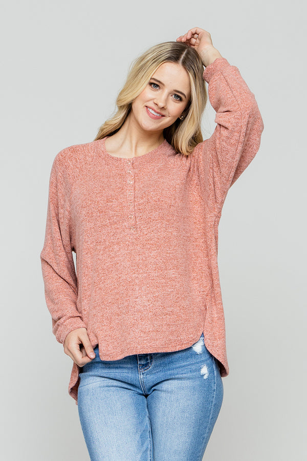 Cozy Gal Knit Sweater