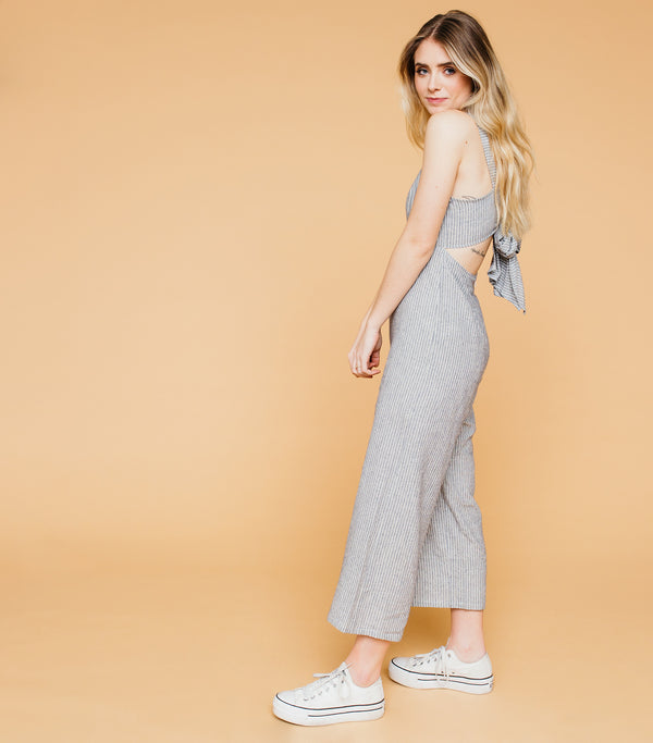 Bow Tied Jumpsuit