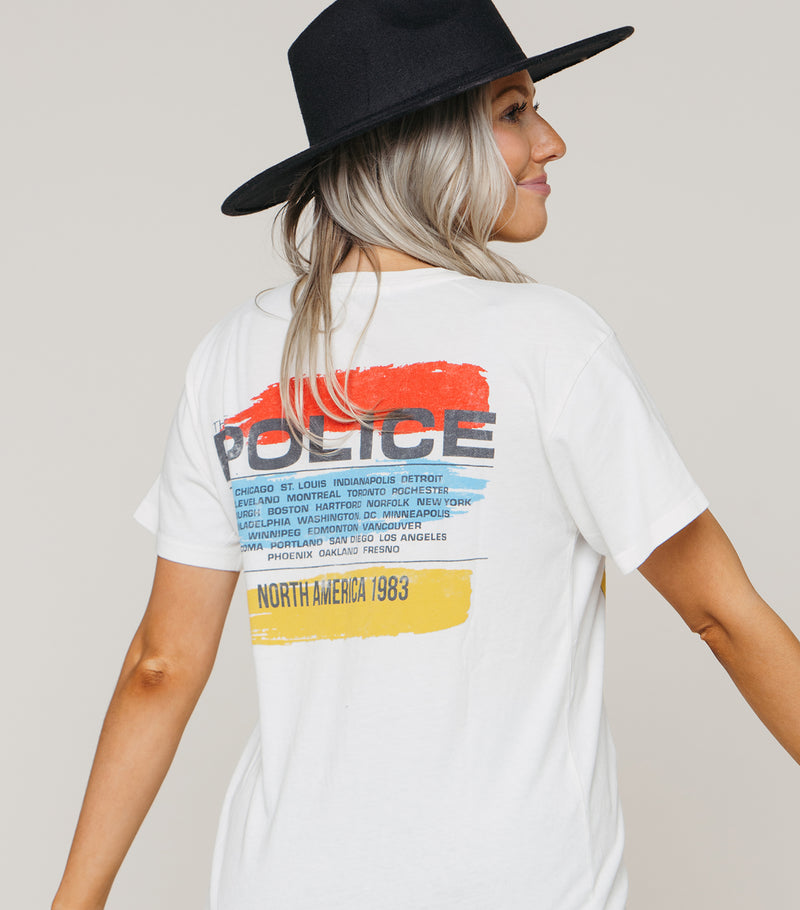 The Police North American Tour Weekend Tee