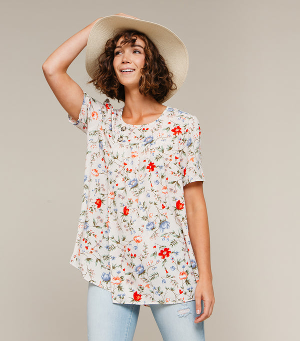 Ellie Floral Blouse