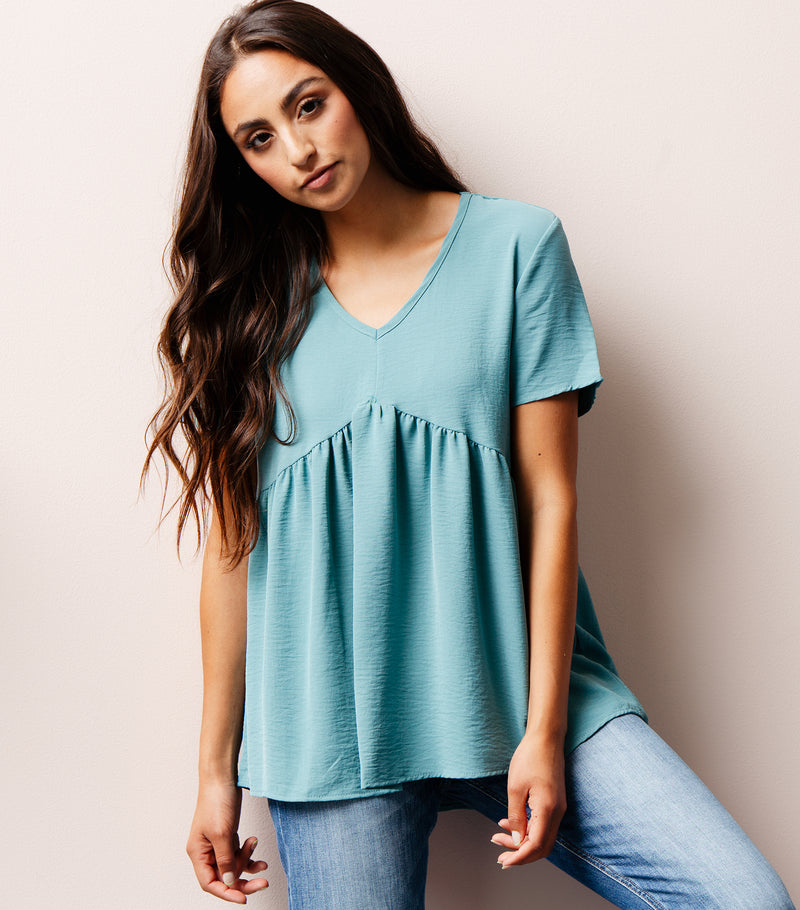Caught in the Wave Blouse