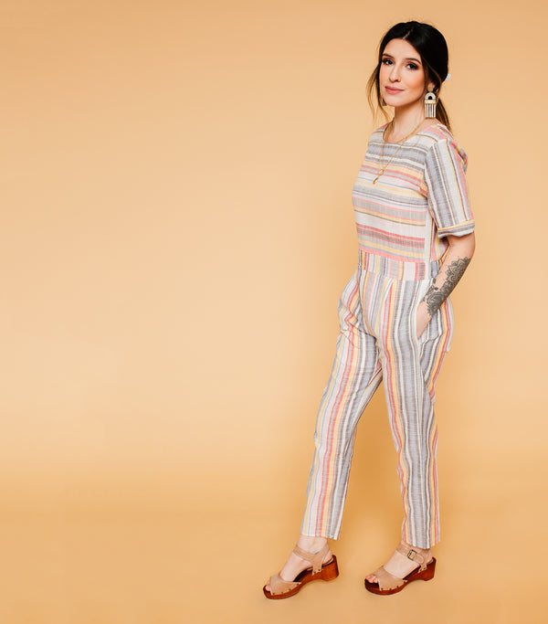 Sweet As Sun Jumpsuit