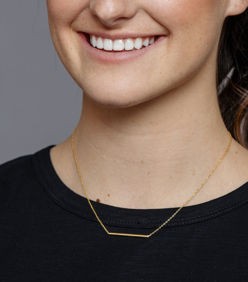 Simply a Bar Necklace