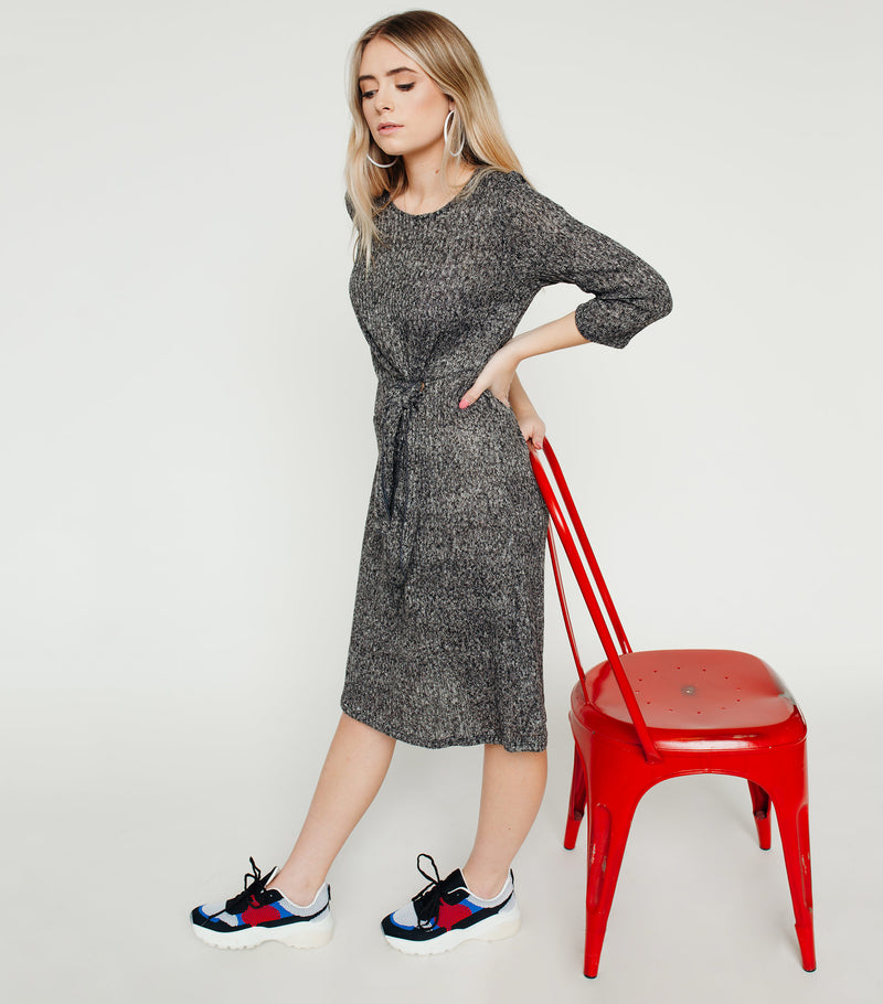 Keep Warm Knot Dress