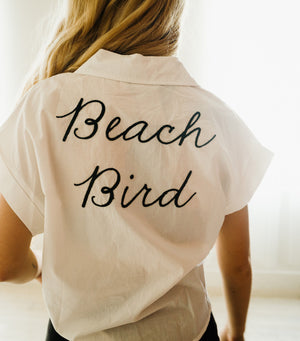 Beach Bird Blouse