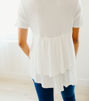 Ruffle Around Top