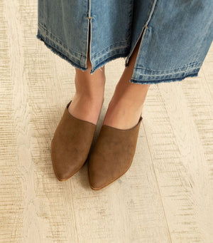 Sangria Wrap Loafer-Brown