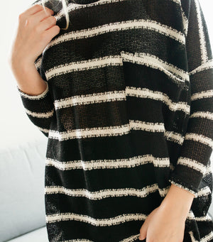 Oversized Knit Top