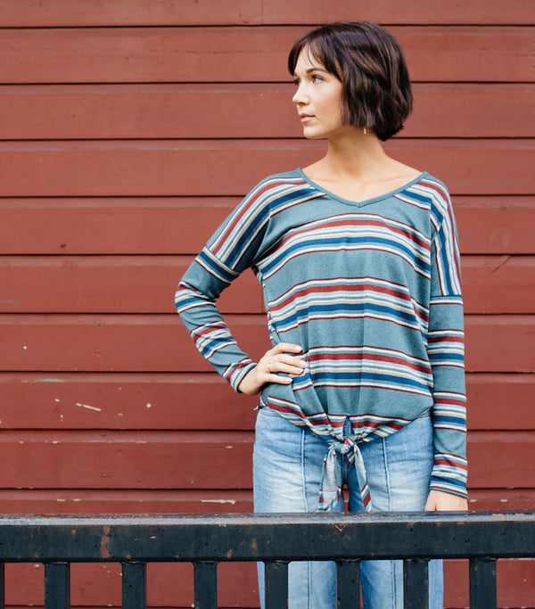 Easy Dayz Stripe Top