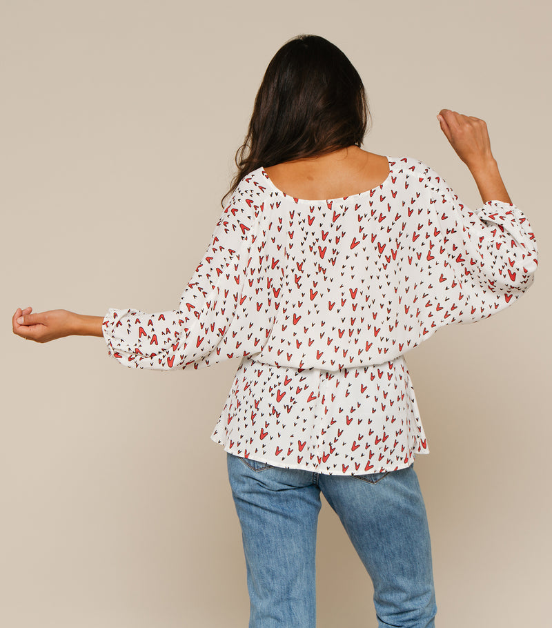 Stealing Hearts Blouse