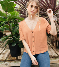 Shirley Button Up Top