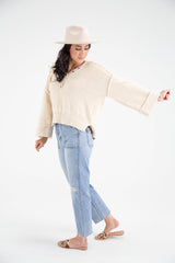 Oversized Casual Top