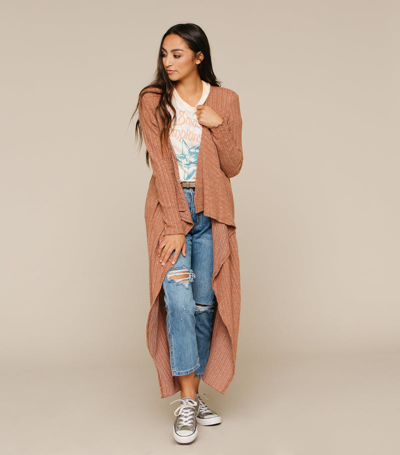 Sweetly Draped Cardi