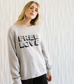 Free Love Sweatshirt