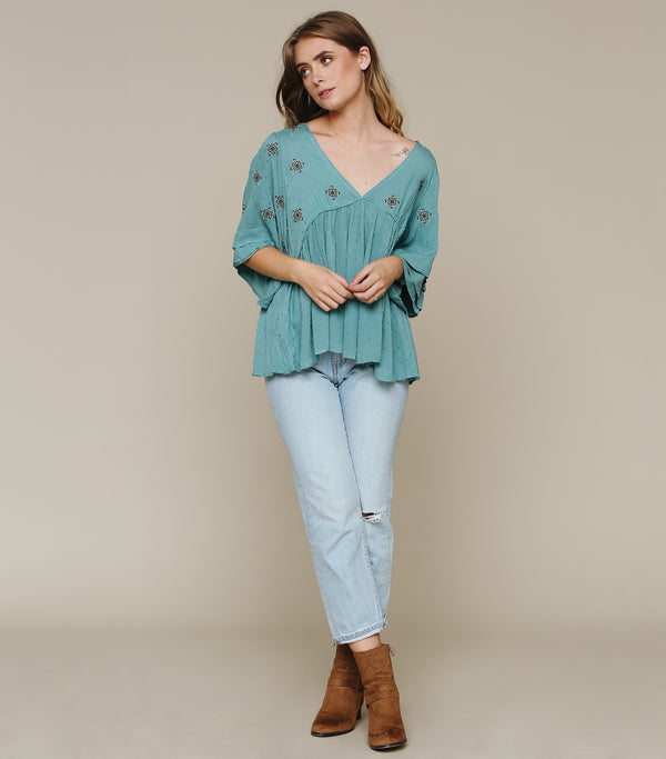 Sieze The Day Blouse
