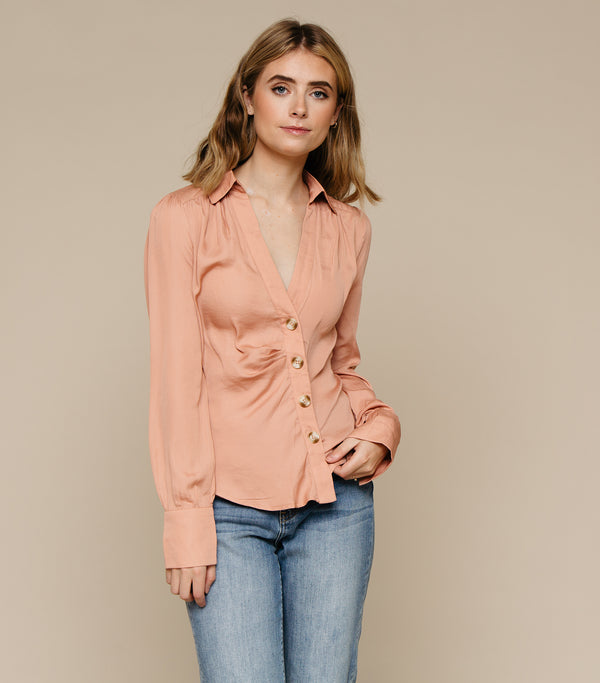 Soft N Sweet Button Blouse