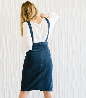 Corduroy Pine Dress