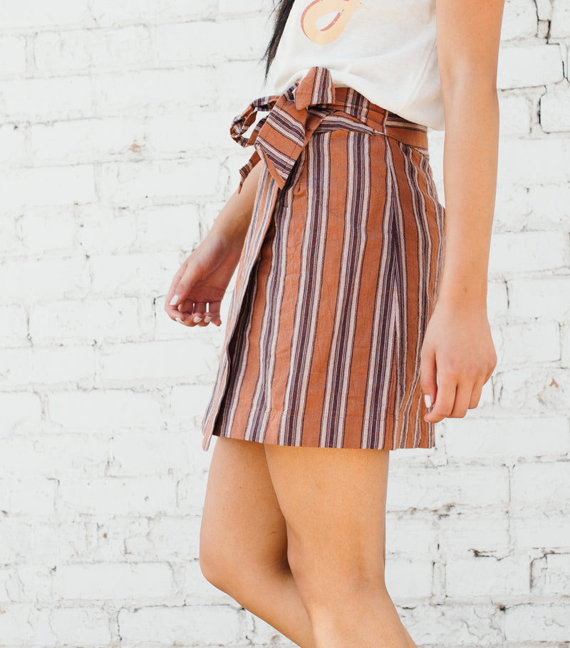 Sienna Stripe Skirt