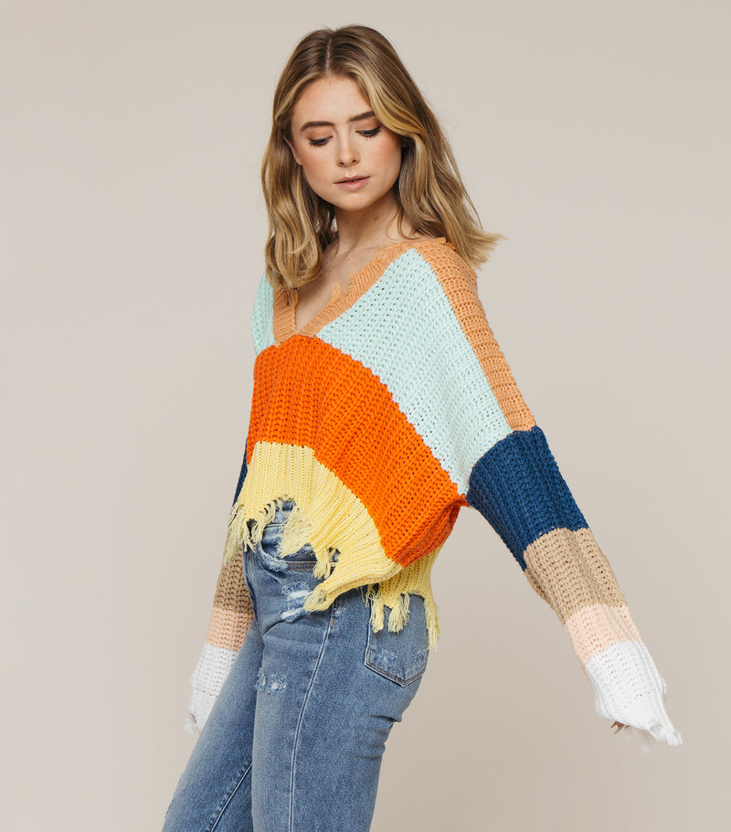 Sugar Sweet Sweater- Multi