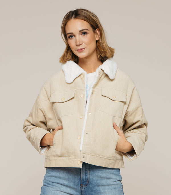 Pub Night Cord Jacket