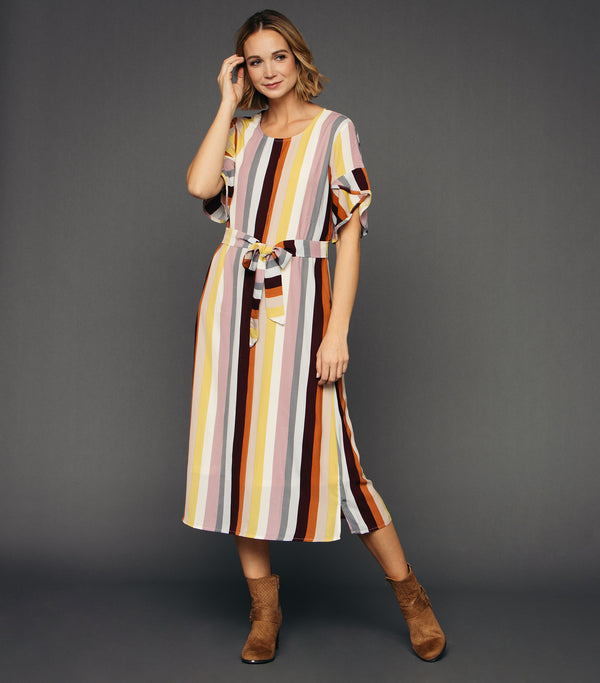 Sundown Stripe Dress