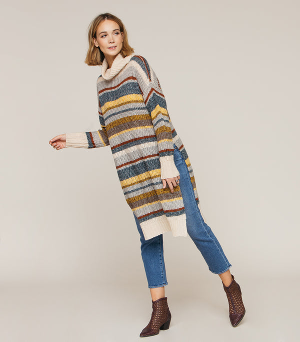RETRO LONG SWEATER