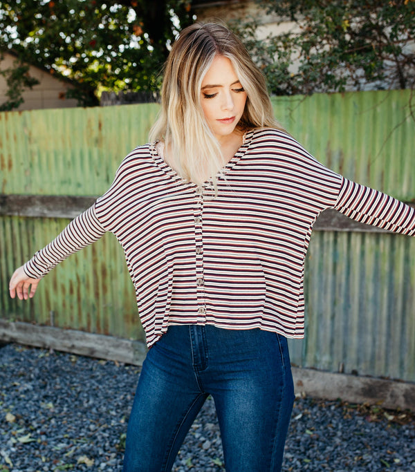 Wallflower Stripe Top