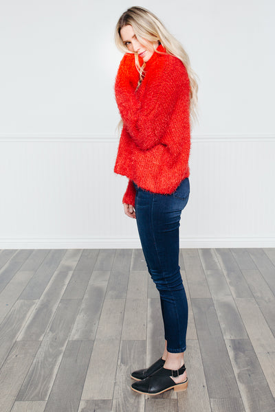 True Colors Pull-Over- Red