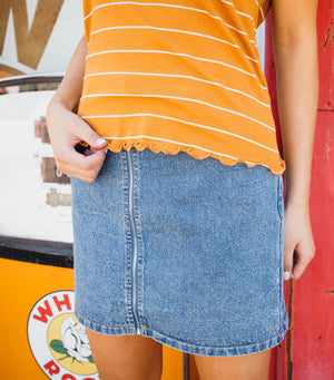 Do It All Denim Skirt