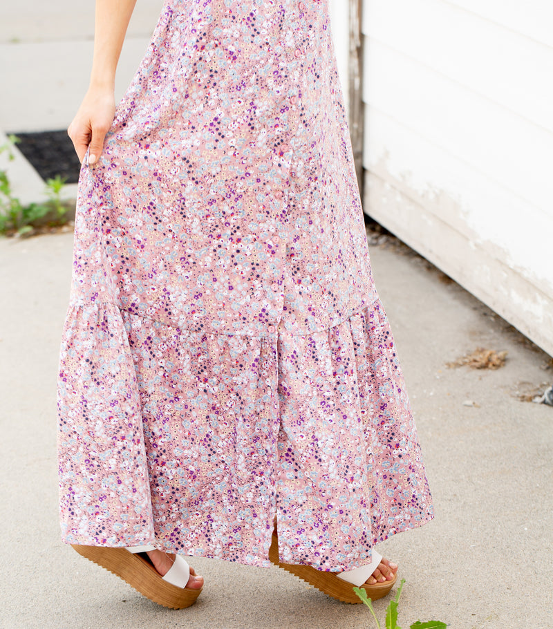 Like A Wildflower Maxi Dress