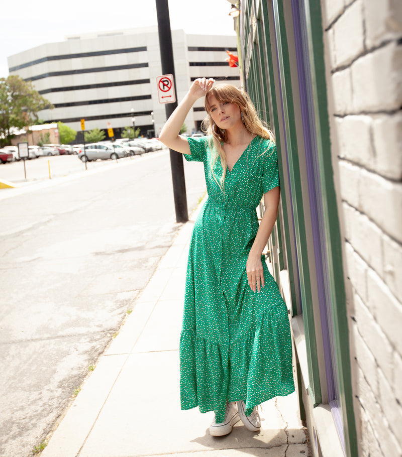 Live Lightly Maxi Dress