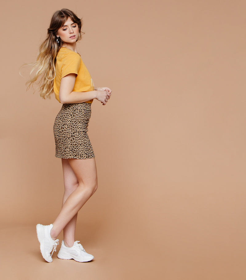 Safari Mini Skirt