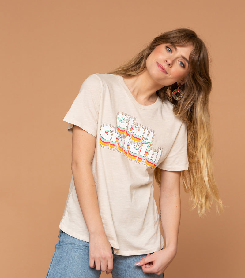 Stay Grateful Tee