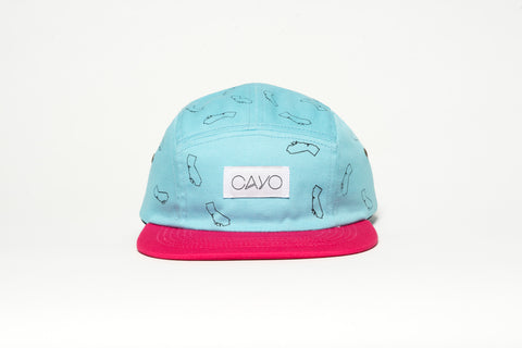 Cali Five-panel Hat - Cayo Eyewear