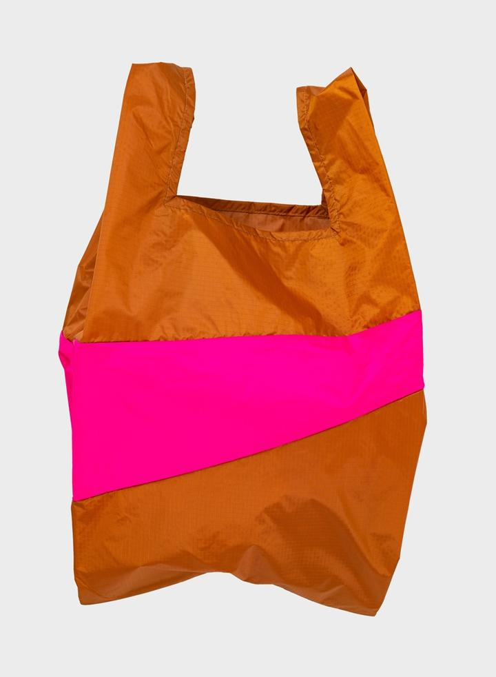 THE NEW SHOPPING BAG SAMPLE AND PRETTY PINK LARGE