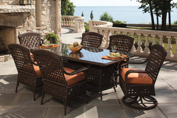 Lloyd Flanders 7 Piece Dining Set Collection