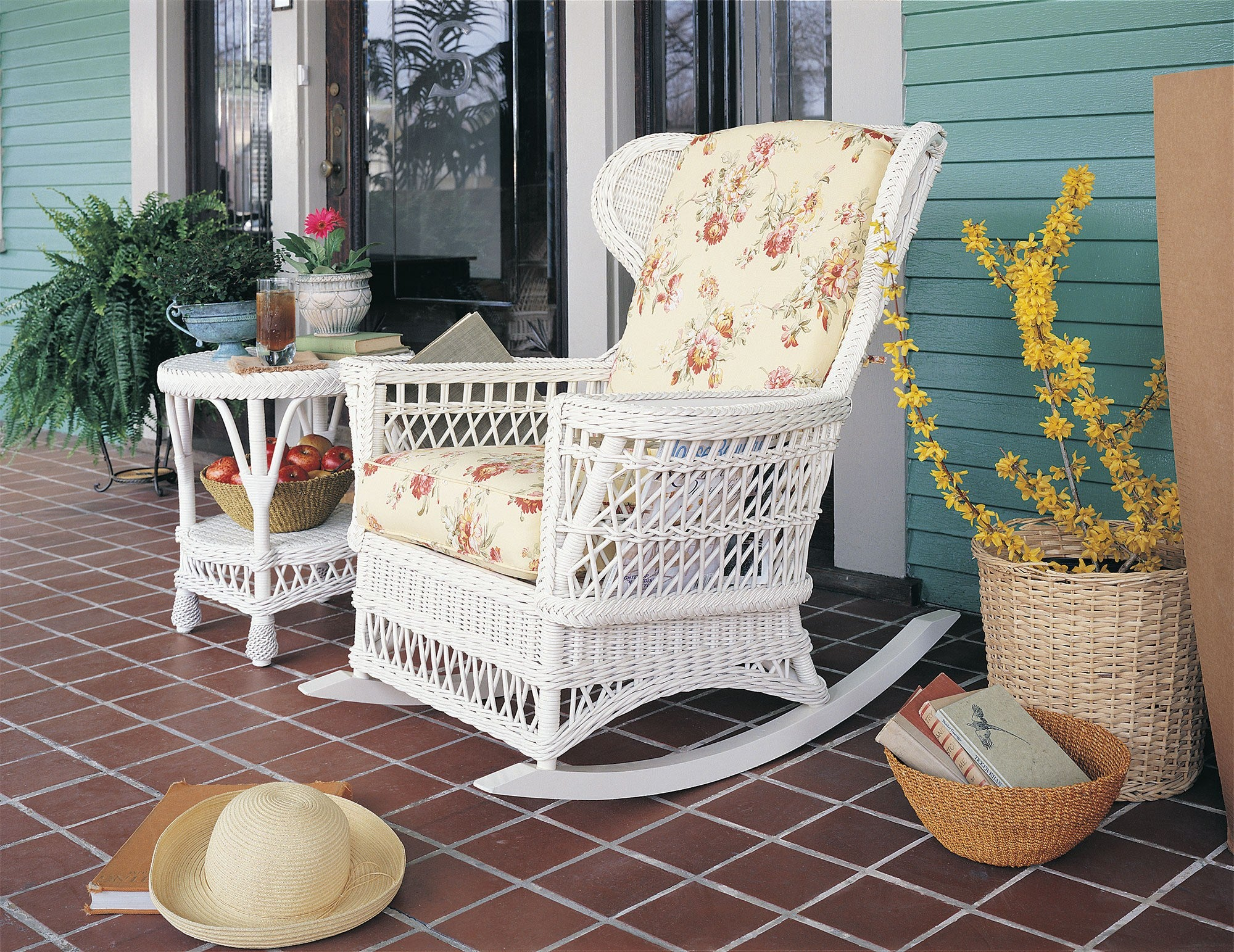 Designer Wicker & Rattan By Tribor Concord Rocker by Designer Wicker from Tribor Rocking Chair - Rattan Imports