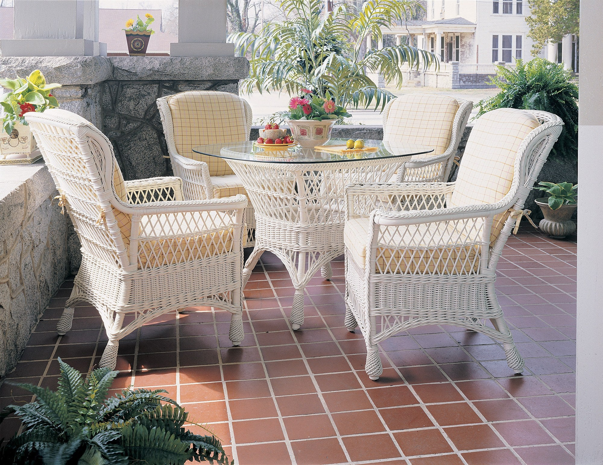 Designer Wicker & Rattan By Tribor Concord Dining Arm Chair by Designer Wicker from Tribor Chair - Rattan Imports