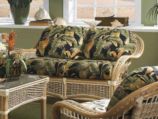 Spice Islands - ISLANDER LOVE SEAT NATURAL -  -