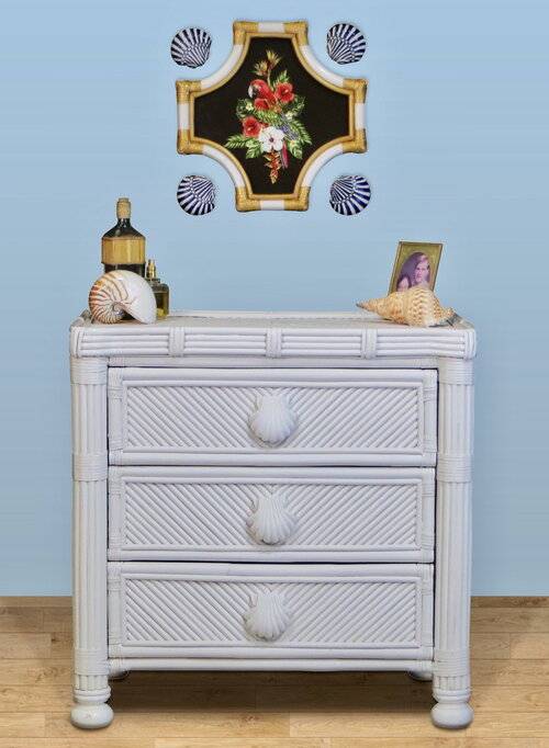 Spice Island Coral Cove 3 Drawer Dresser