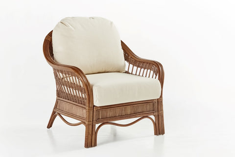 South Sea Rattan Bermuda Armchair