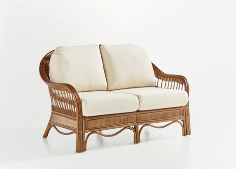 South Sea Rattan Bermuda Loveseat